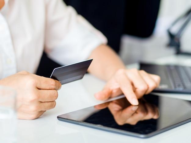 Serviço de compras online e transações online de comércio eletrônico