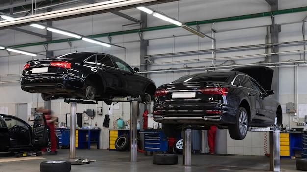 Serviço de garantia para carros novos de um revendedor autorizado