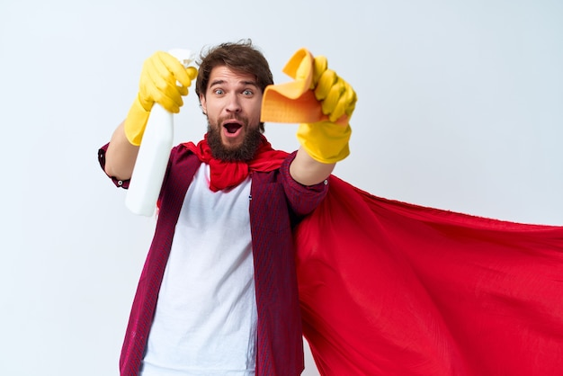 Serviço de limpeza a limpeza do apartamento prestação de serviços