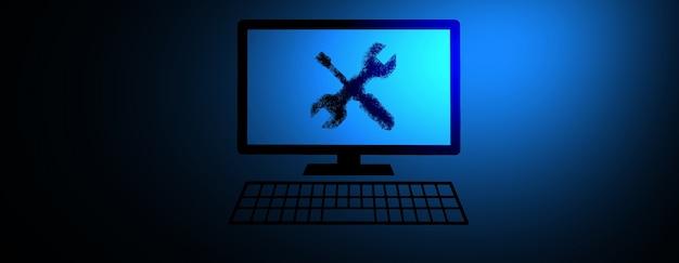 Serviço de manutenção e reparo de software de computador
