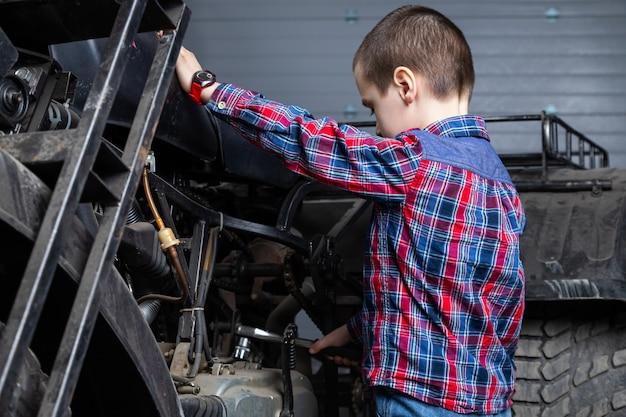 Serviço de reparação de automóveis.