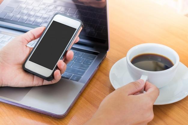 Servindo a rede no telefone inteligente