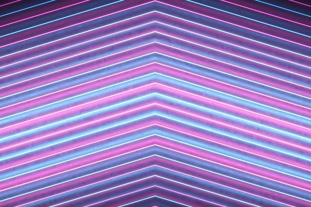 Setas apontando abstratas de linhas Foto Premium