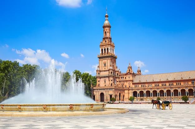 Sevilla plaza de espana andaluzia espanha