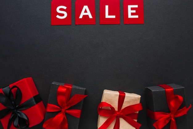 Sexta-feira negra venda venda no apartamento leigos