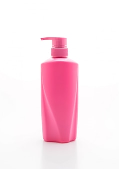Shampoo ou frasco de condicionador de cabelo