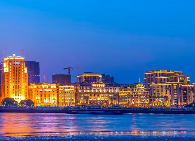 Shanghai bund noite