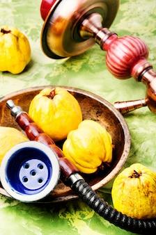 Shisha com marmelo aroma
