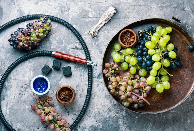 Shisha com sabor de uvas
