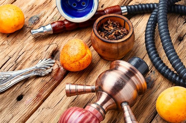 Shisha da arábia com tabaco de damascos