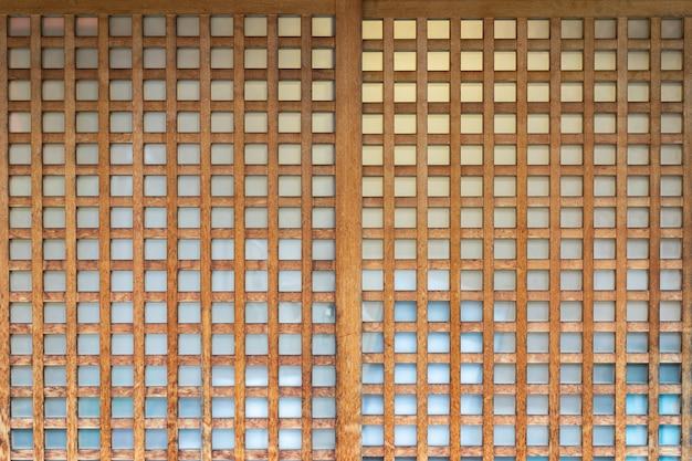 Shoji, porta, janela ou divisor de quarto composto.