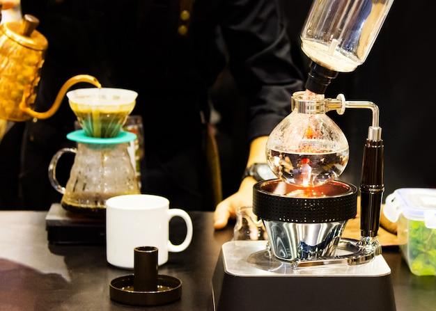 Sifão cafeteira café, cafetaria
