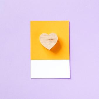 Símbolo de forma de coração para o amor