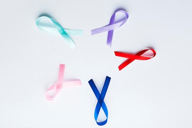 Símbolos de câncer em círculo