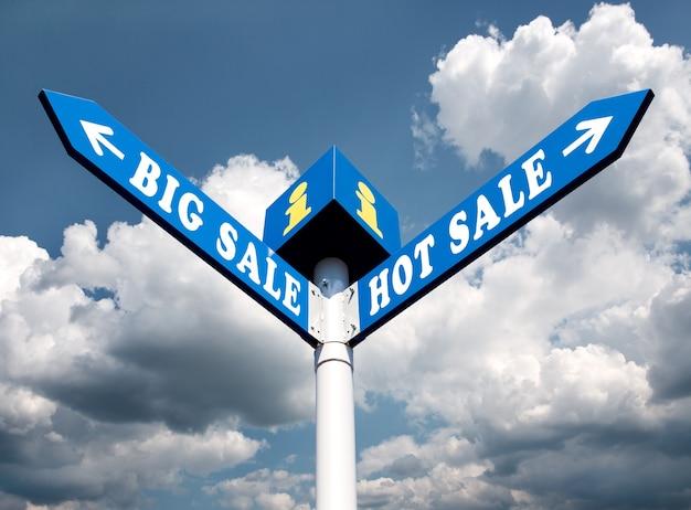 Sinais de trânsito direcionais de grande venda e grande venda