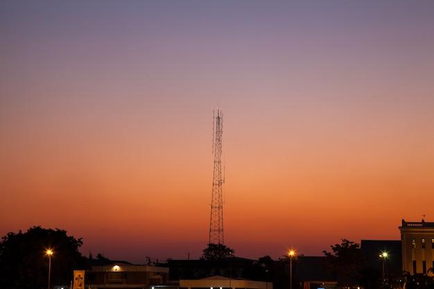 Sinal de antena.