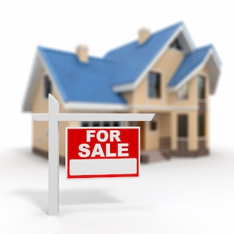 Sinal de casa à venda