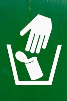 Sinal de lixo