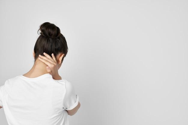 Síndrome dolorosa morena desconforto problemas de saúde