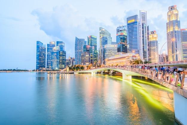 Singapore - julho 17: arquitectura da cidade de singapore, julho 17, 2015, cante