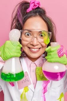 Síntese de laboratório de química