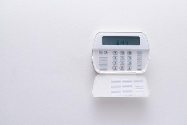 Sistema de alarme de apartamento ou escritório.