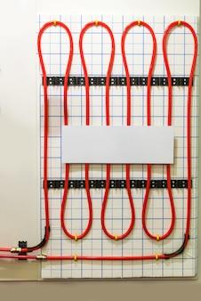 Sistema de aquecimento de piso