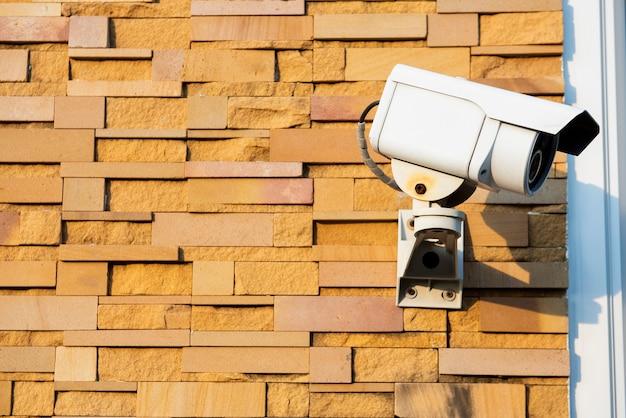 Sistema de câmera de segurança externa
