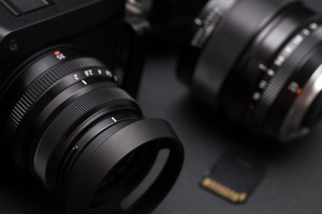 Sistema de câmera digital mirrorless