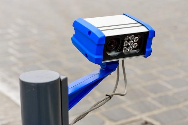 Sistema de controle com câmera para carro