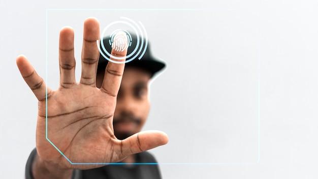 Sistema de digitalização de identificação
