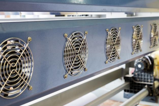 Sistema de equipamento de ventilação impressora jato de tinta