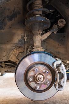 Sistema de freios do carro