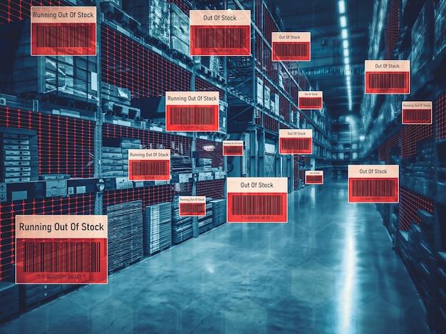 Sistema de gerenciamento de armazém inteligente usando tecnologia de realidade aumentada