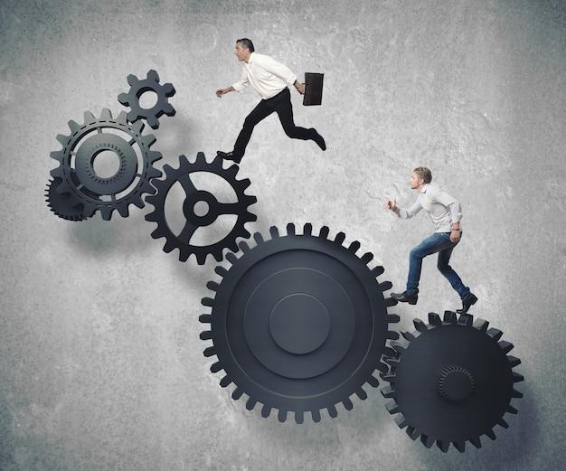 Sistema de mecanismo de negócios