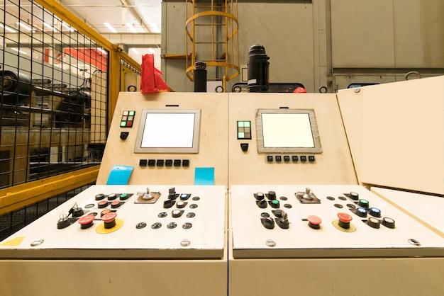 Sistema de painel de controle
