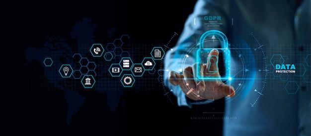 Sistema de proteção de dados abstratos