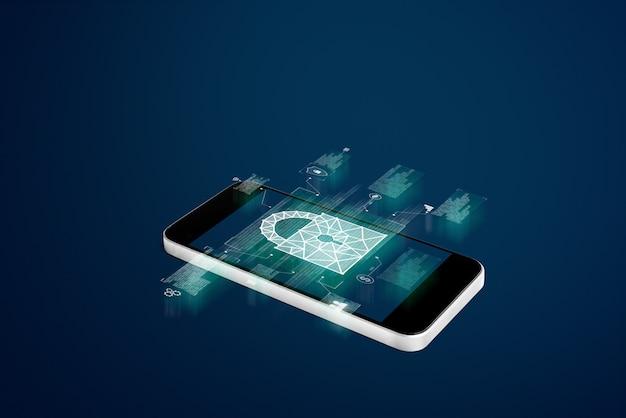 Sistema de segurança para celular e tecnologia de aplicação