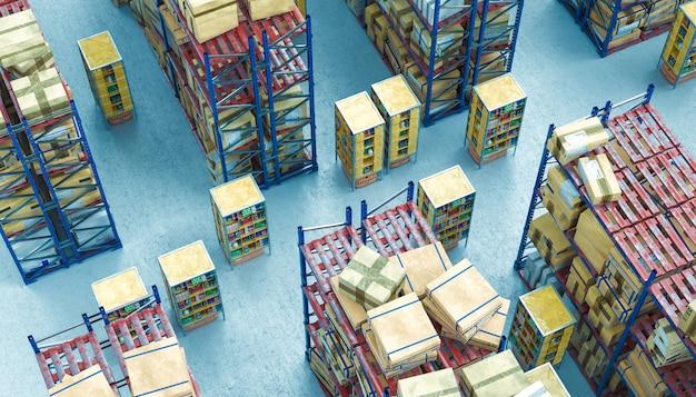 Sistemas de armazenamento automatizado