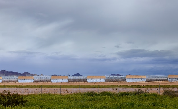 Sistemas para aquecimento de água de coletores solares na estação termoelétrica