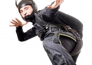 Skydiver adulto