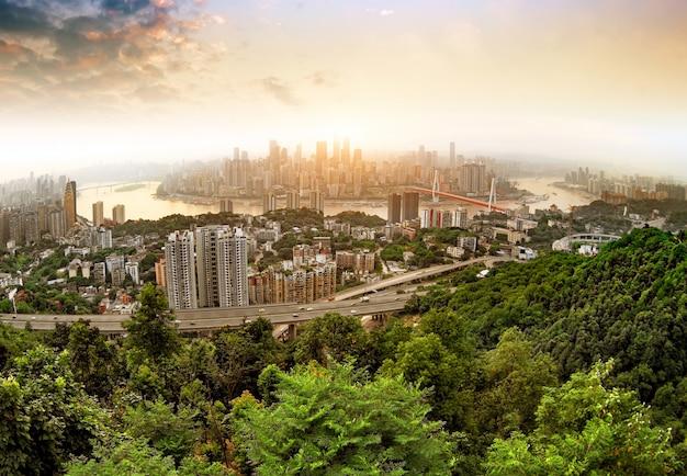 Skyline da cidade de chongqing