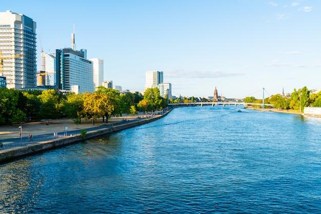 Skyline de frankfurt am main