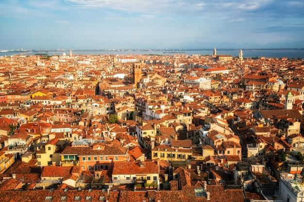 Skyline de veneza itália da praça de são marcos