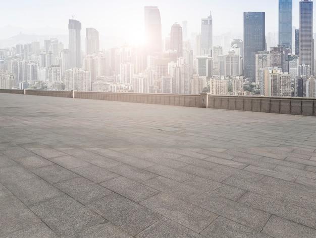 Skyline pearl oriental principal andar urbano