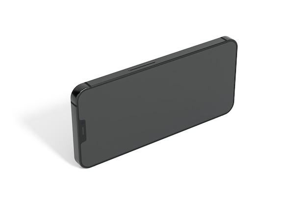 Smartphone com desenho isométrico