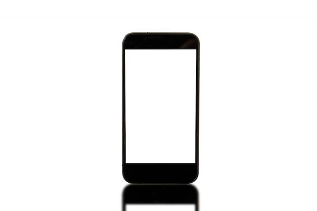 Smartphone e reflexão isolado