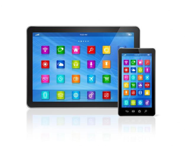 Smartphone e tablet digital