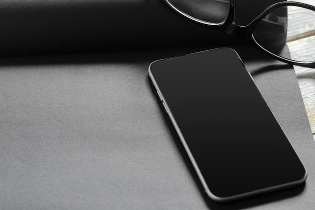 Smartphone em preto