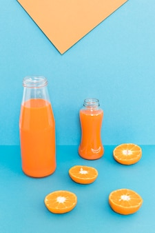 Smoothie de laranja fresco